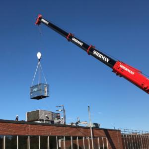 installing rooftop hvac units