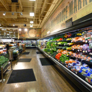 grocery store floor